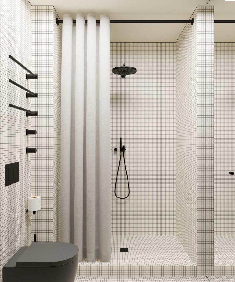 Minimalist Scandinavian Interior By Emil Dervish Copenhagen In 2020 Bathroom Interior Design Bathroom Interior Bathrooms Remodel