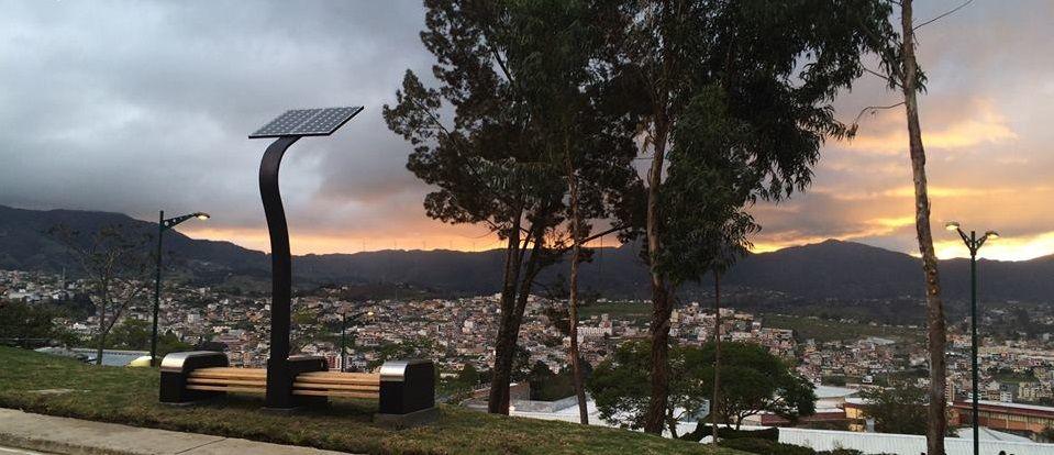 terminada Banca solar Pinterest