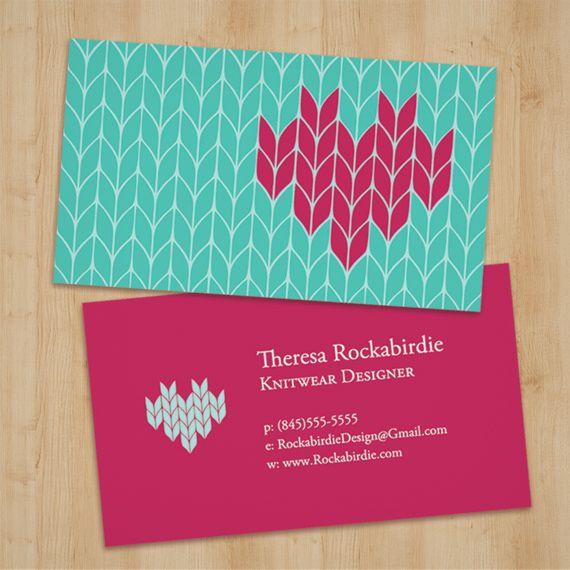 Versatile business card for textile artists yarn shop owners and versatile business card for textile artists yarn shop owners and knitters graphicdesign knit craft businesscard colourmoves