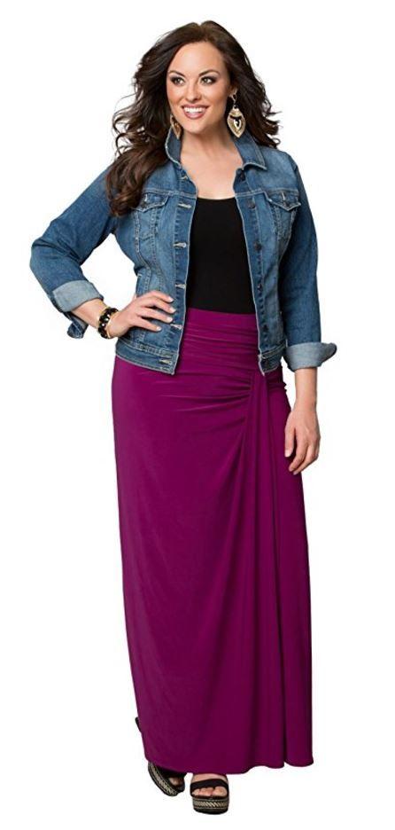46+ Plus size long skirts ideas info