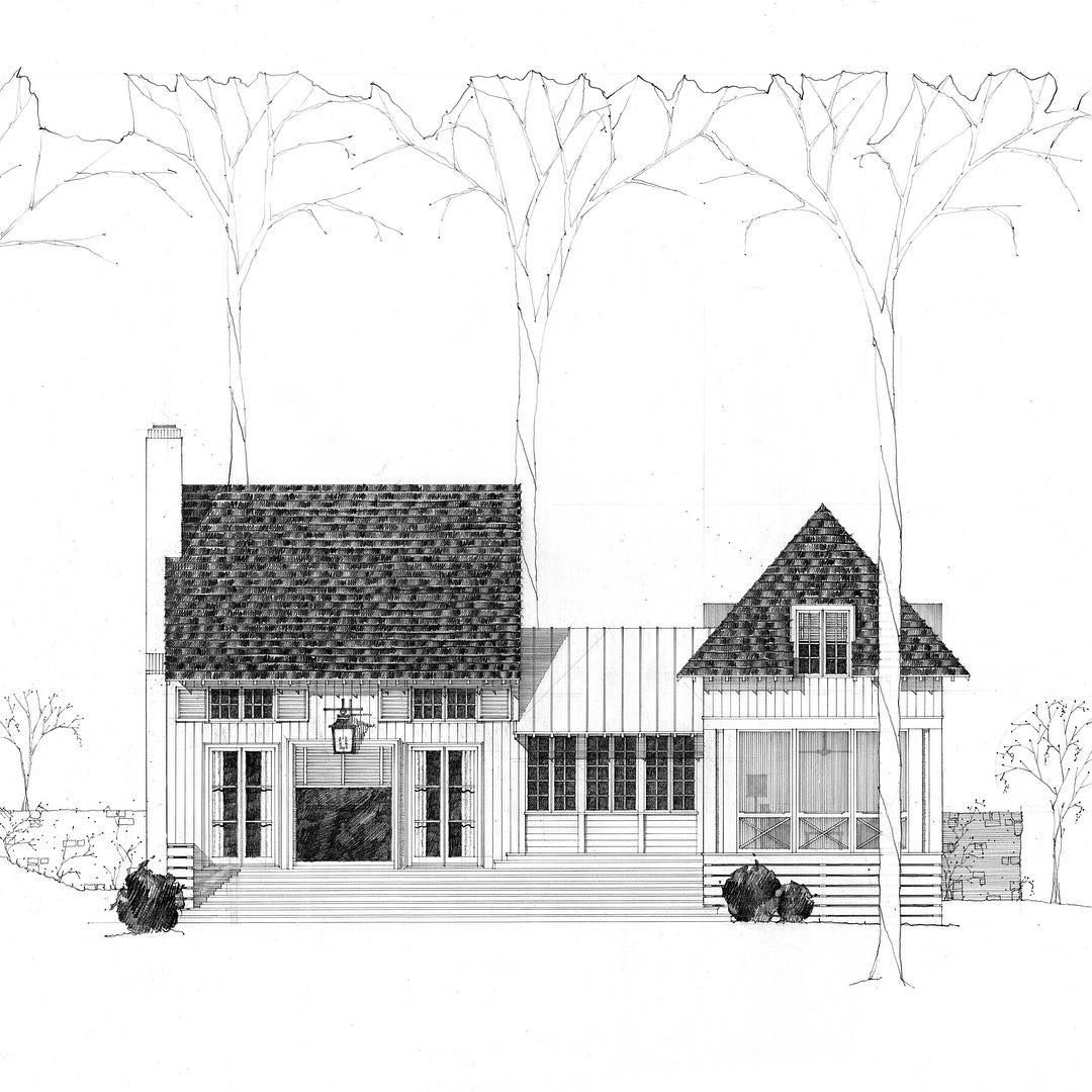 We Are Happy To Be Starting The New Year And Breaking Ground On A New House At Lake Martin Lake Hou Facade Design Architectural Elements Architecture Details