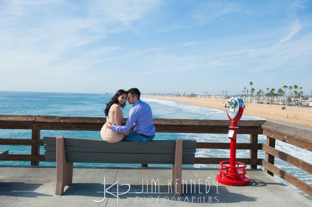 Balboa Fun Zone Newport Beach engagement photos | Jim Kennedy Photographers