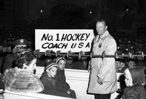 Jack Riley Us Hockey Coach At 1960 Olympics Dies At 95 Hockey Coach Us Hockey Team Hockey Teams