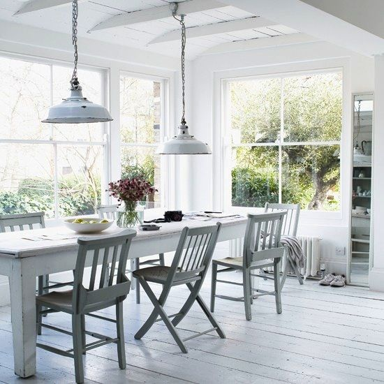 Etc Inspiration Blog White On White Home In Northern London Via House To Home And Paul Massey Dining Room photo Etc-Inspiration-Blog-White-On-White-Home-In-Northern-London-Via-House-To-Home-And-Paul-Massey-Dining-Room.jpg