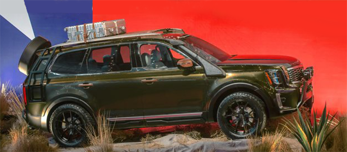 2020 Kia Telluride Goes Big Release Date Price Kia Overland Vehicles Telluride