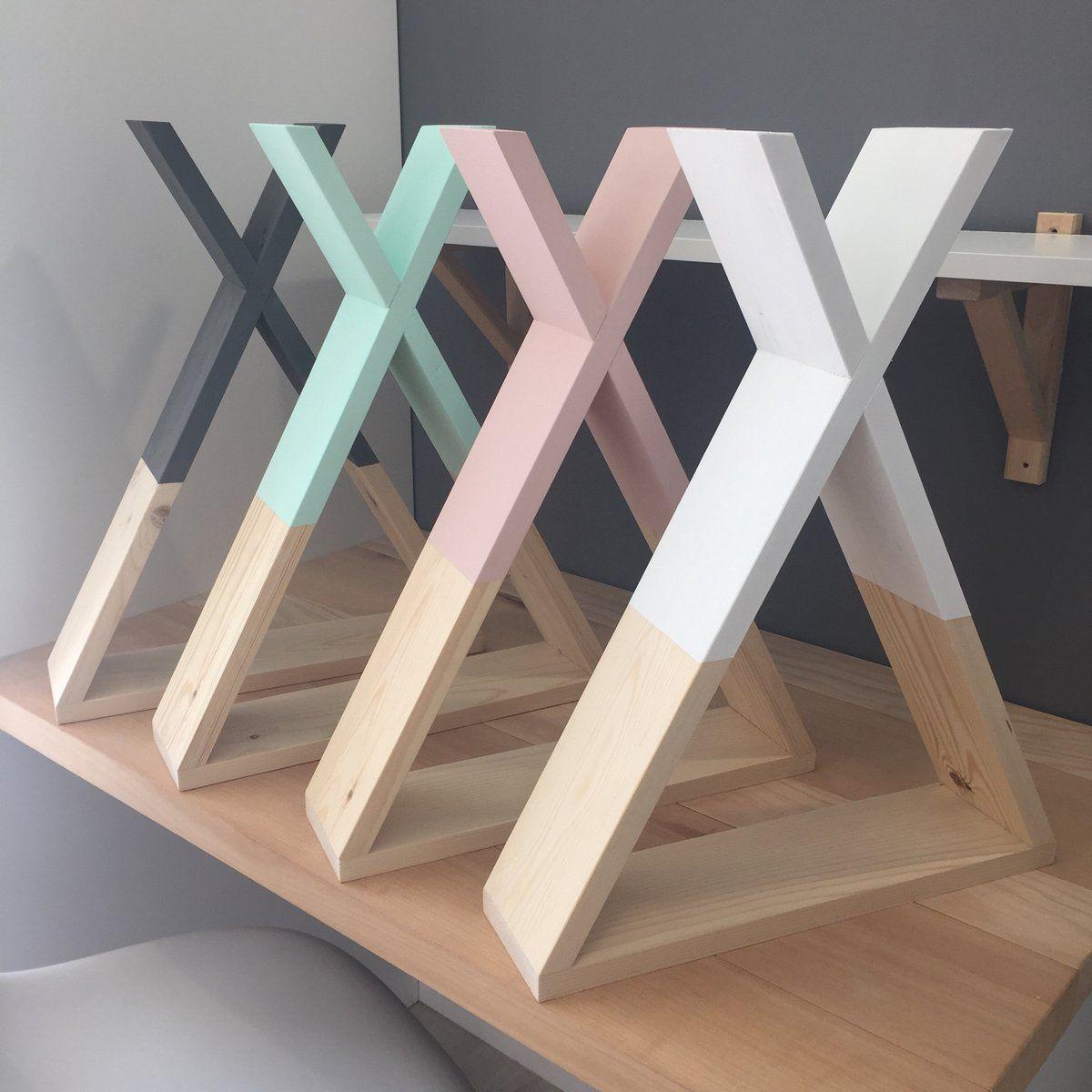 Estante de madera de pino fabricado y pintado de madera - Madera para estantes ...