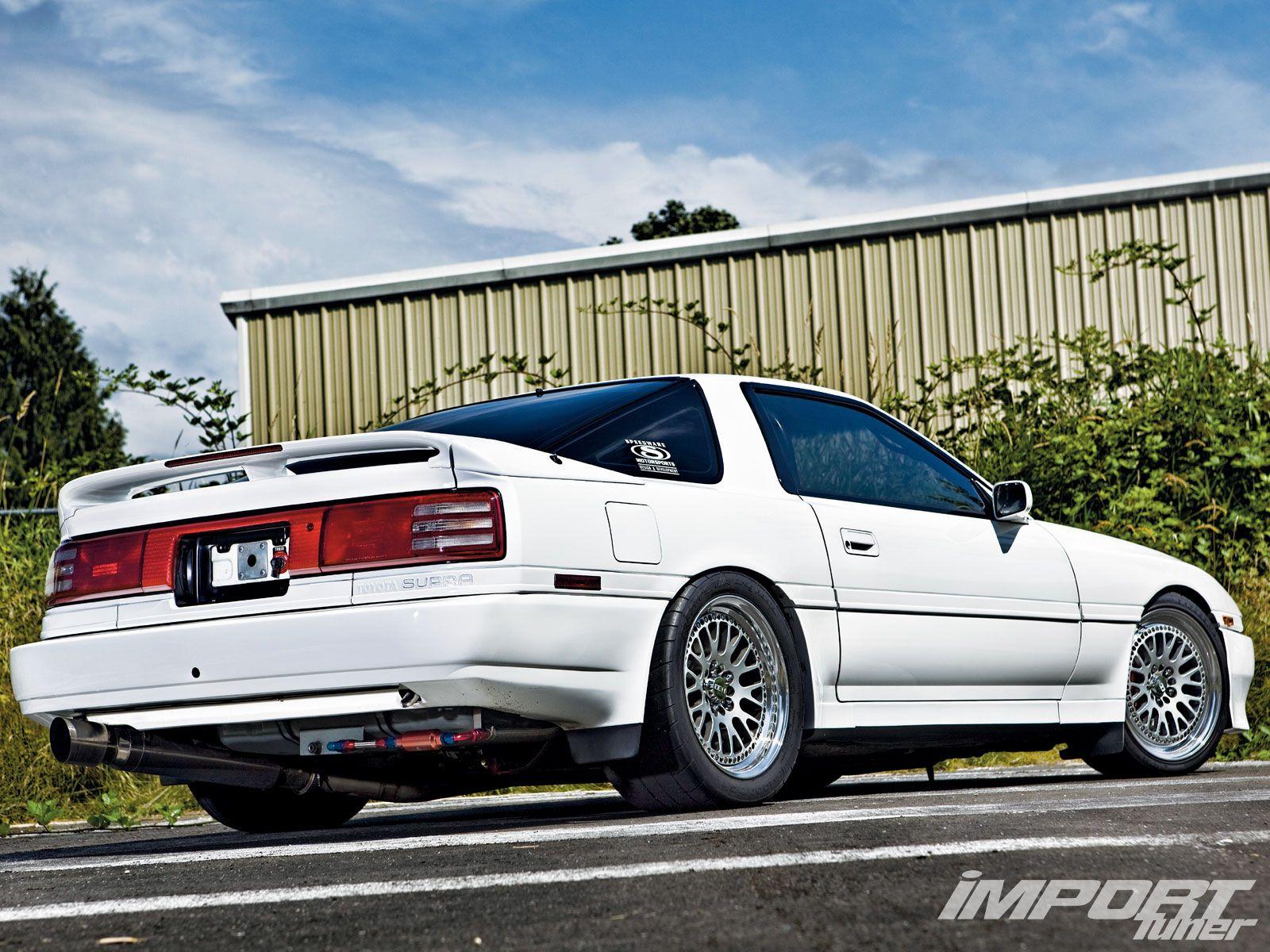 1989 Toyota Supra Turbo ... mine had better wheels. .js Man I ♥d that car!