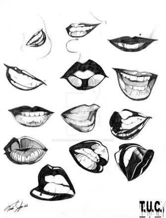 Image Result For Kissing Lips Drawing Lips Drawing Human