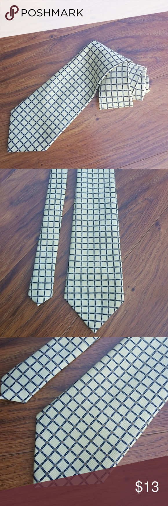 Tie by Marco Polo Nwot tie by Marco Polo 100 Poly 3.75x56