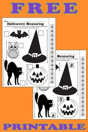 Halloween I Spy - FREE Printable Halloween Counting ...