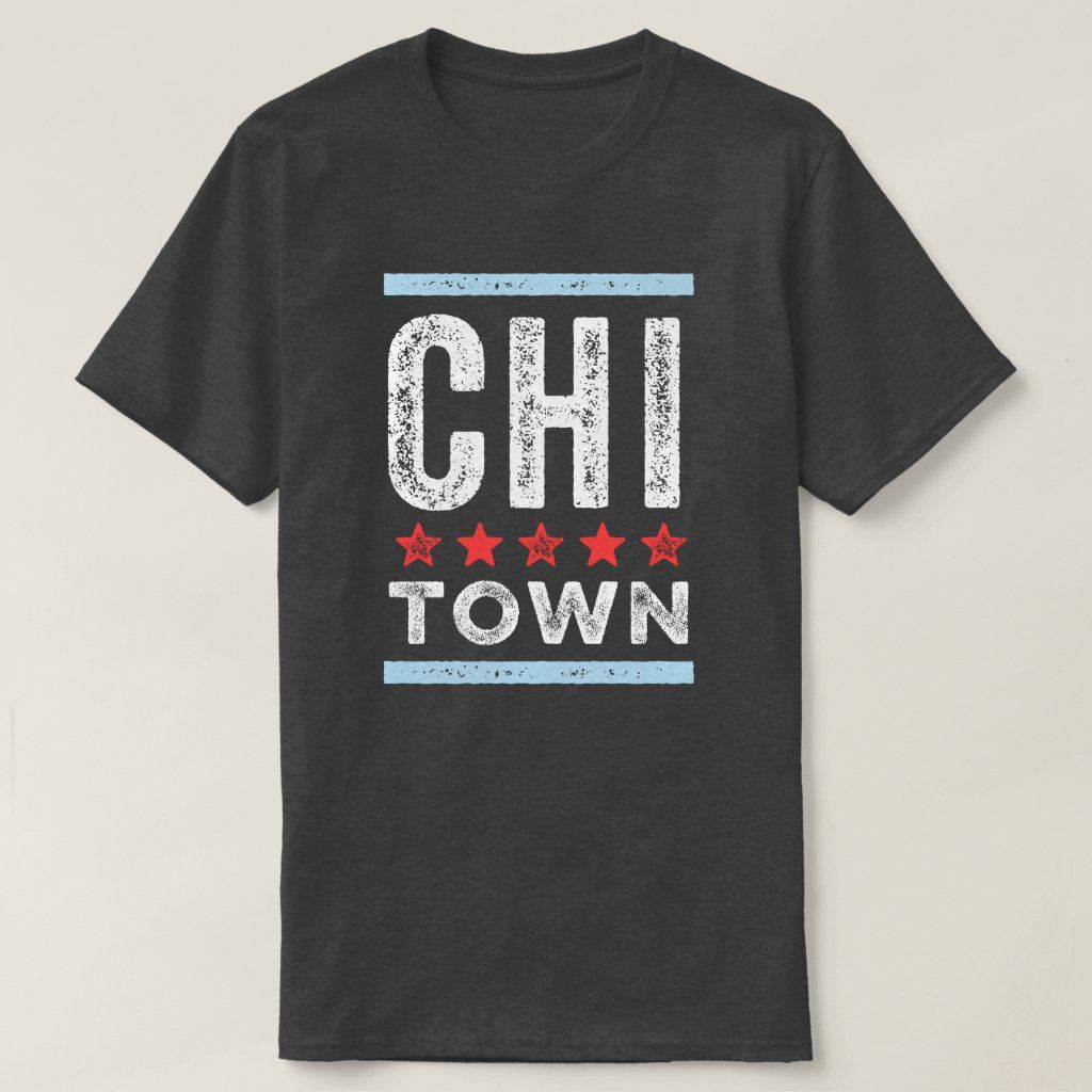 Show your city pride with this Chicago shirt.