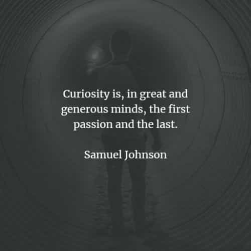 60 Curiosity quotes that'll help you achieve great things