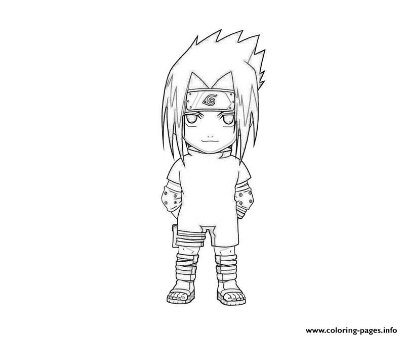 Print naruto s cute sasuke0a61 coloring pages lineart for Chibi naruto coloring pages