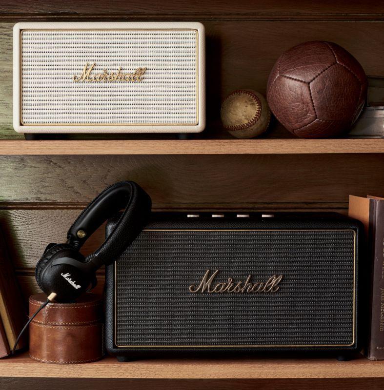 Marshall Stanmore Black Multi-Room Wifi Speaker  96cb7ff5b83bf
