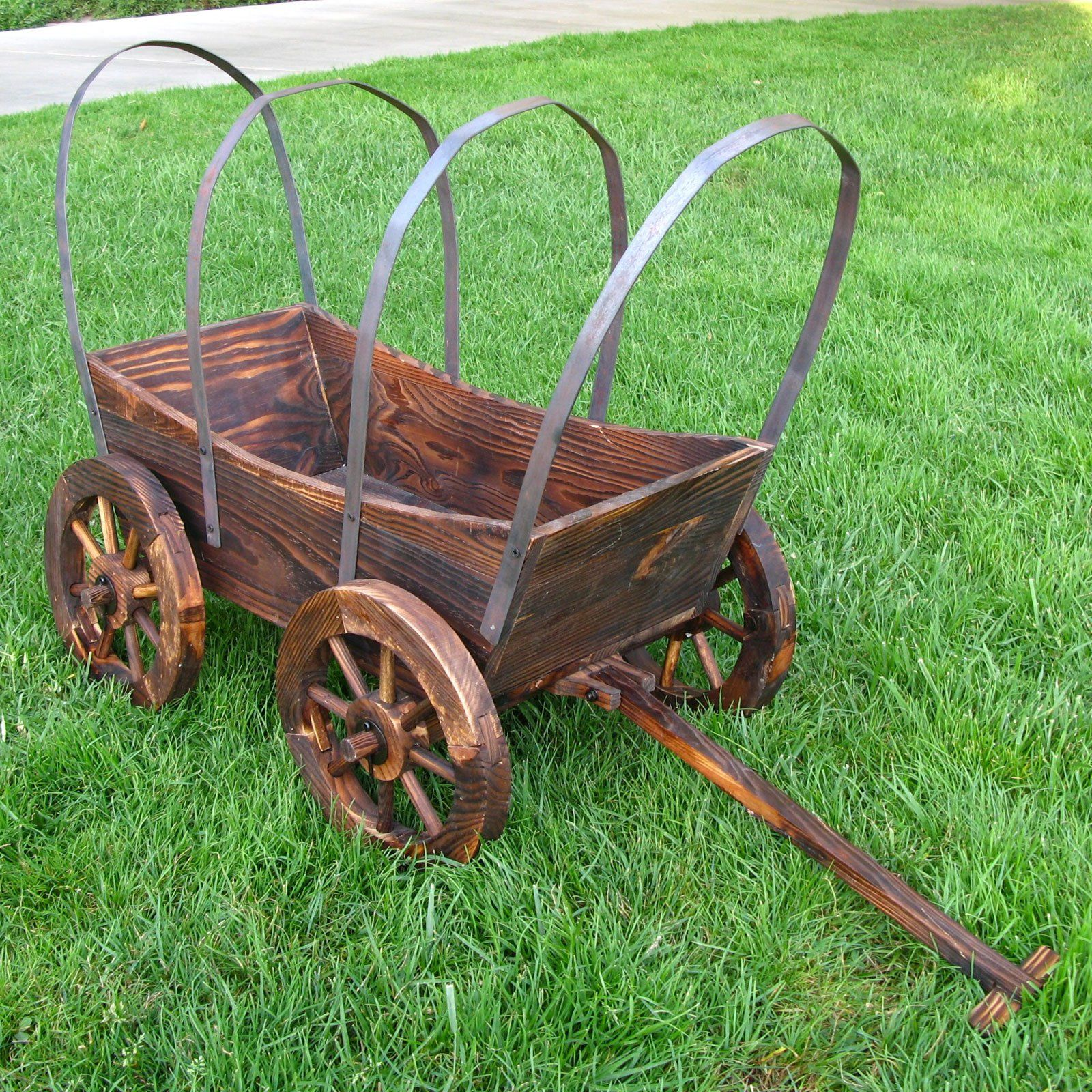 Have To Have It Shine Company Rectangle Avignon Covered Country Wagon Planter 59 98 Wood Craft In 2019 Wagon Planter Wood Planters Planters