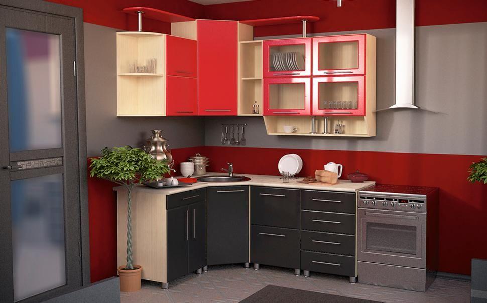 Кухонный гарнитур Dolce Vita-15 с фасадами МДФ матовый