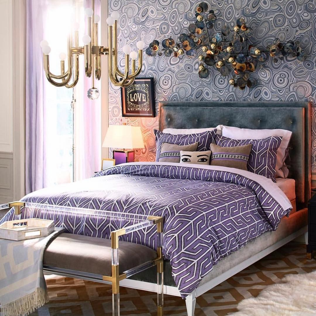 37 purple and white bedroom ideas with pictures