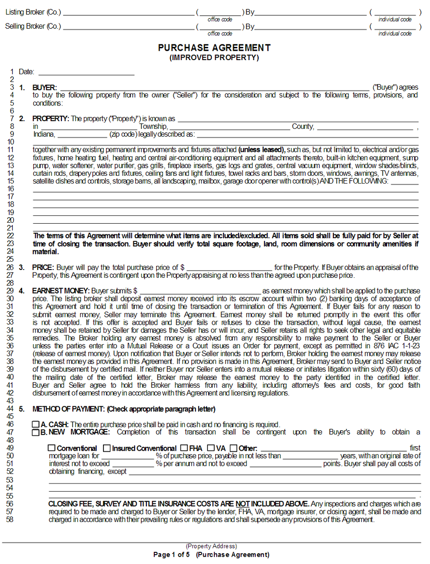Purchase And Sale Agreement Template Washington State 2 Top Risks Of Attending Purchase And Real Estate Contract Real Estate Marketing Flyers Templates