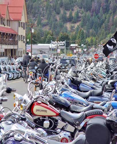 Red River Nm Motorcycle Rally With Images Travel New Mexico
