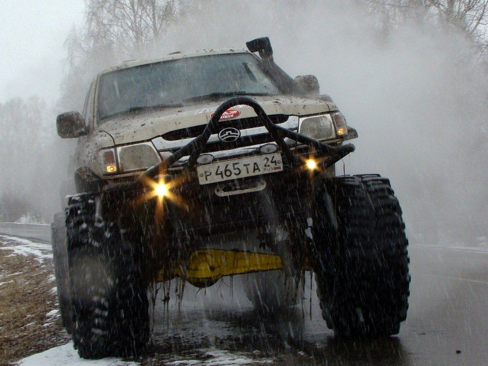 Great Wall Deer 3, Russian Edition Off road truck
