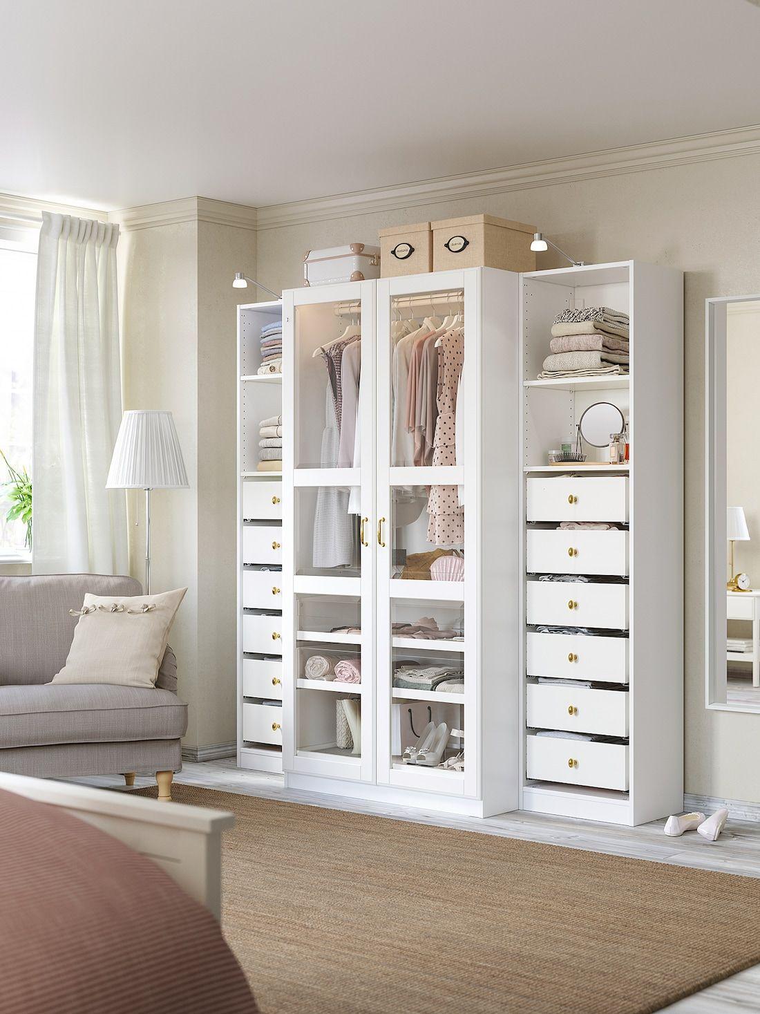 PAX Wardrobe white, Tyssedal glass. Shop IKEA® IKEA in
