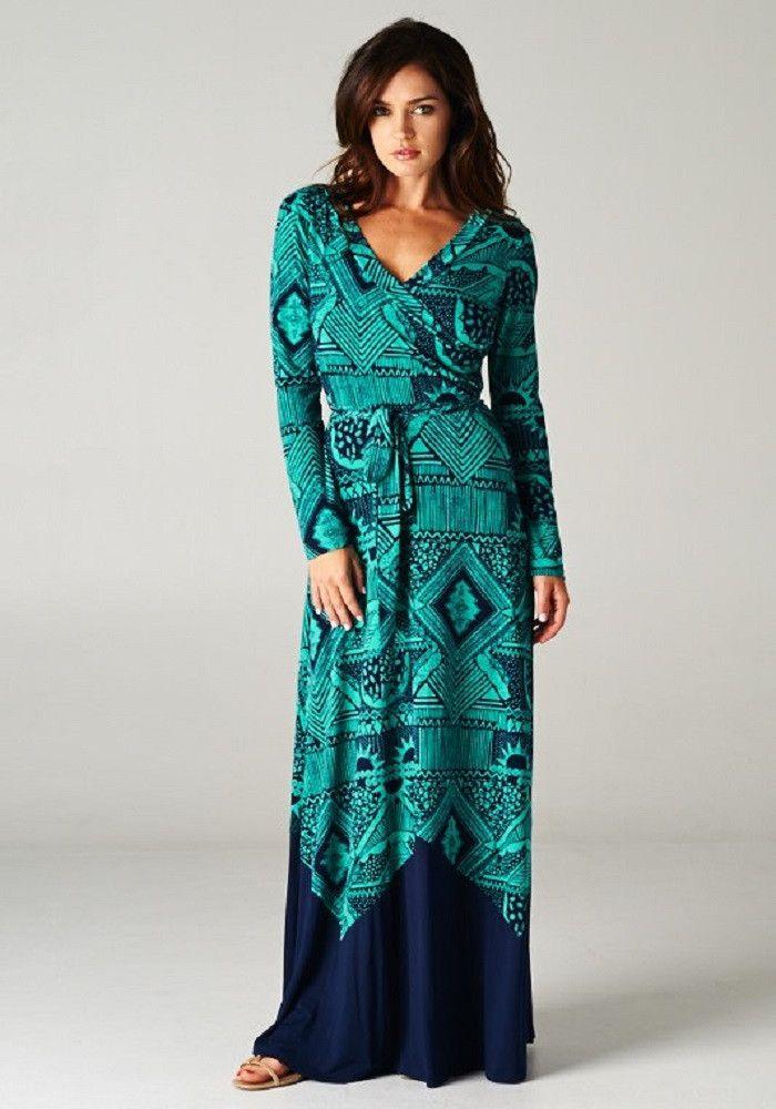 fe1769d1d Fall Into My Trance Maxi -- Emerald | Maxi dress | Fashion, Dresses ...