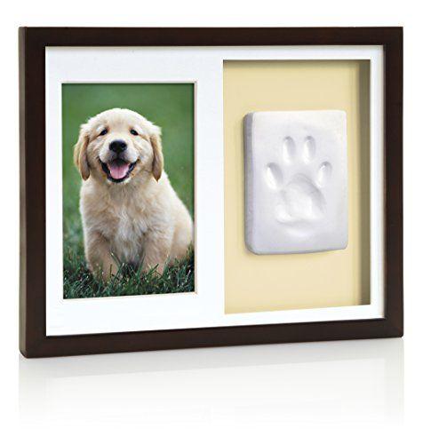 Tiny Ideas Dog or Cat Paw Print Keepsake Wall Frame Kit * Details ...