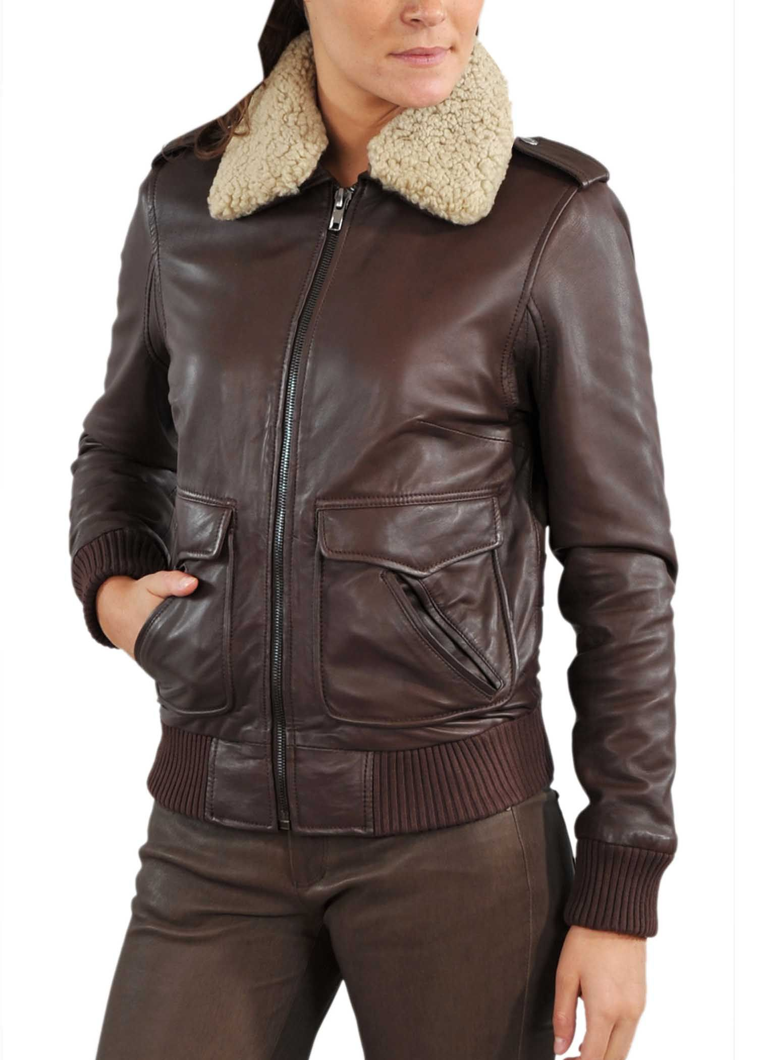 Leather Bomber Jackets For Women - Jacket To | leather_jackets ...