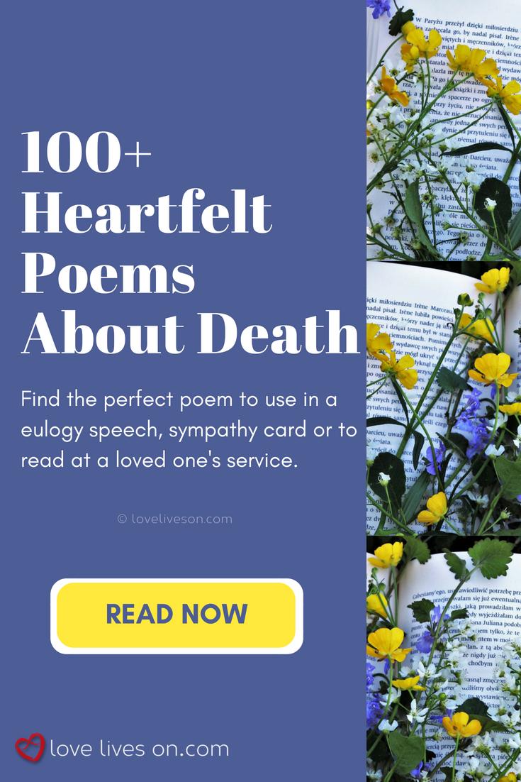 sad speeches about death