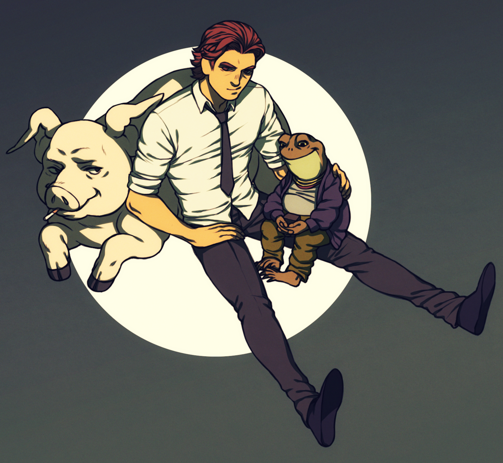family wolf by on DeviantArt