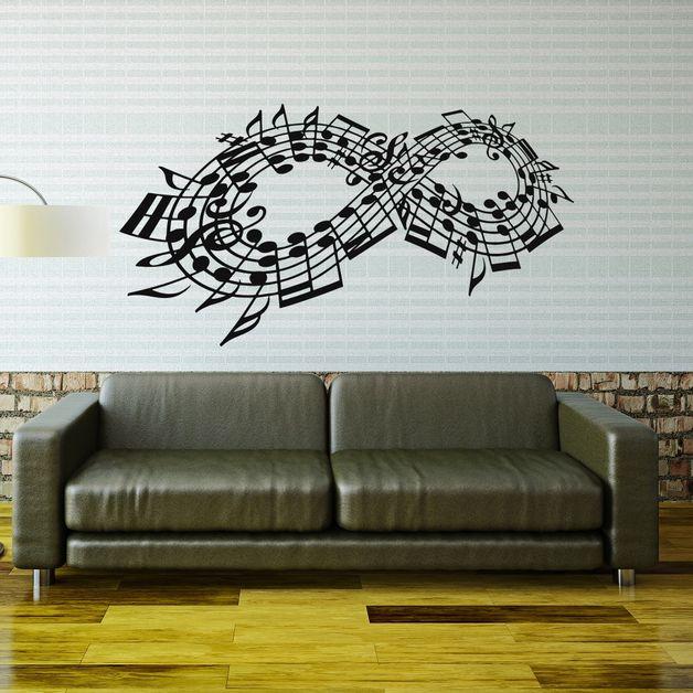 #walldecal #musicwalldecal #musicstickers #musicnotes #musicstudiodecor #musicdecor #musicwallart #walldecor #wallstickers #musicinfinity #infinitydecor