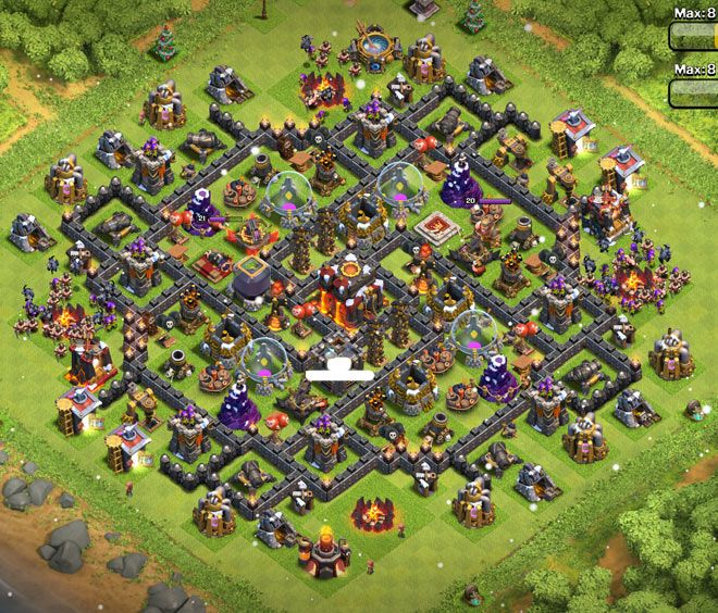 Th10 Farming Base 10 Latest Layouts Clash Of Clans Clash Of Clans