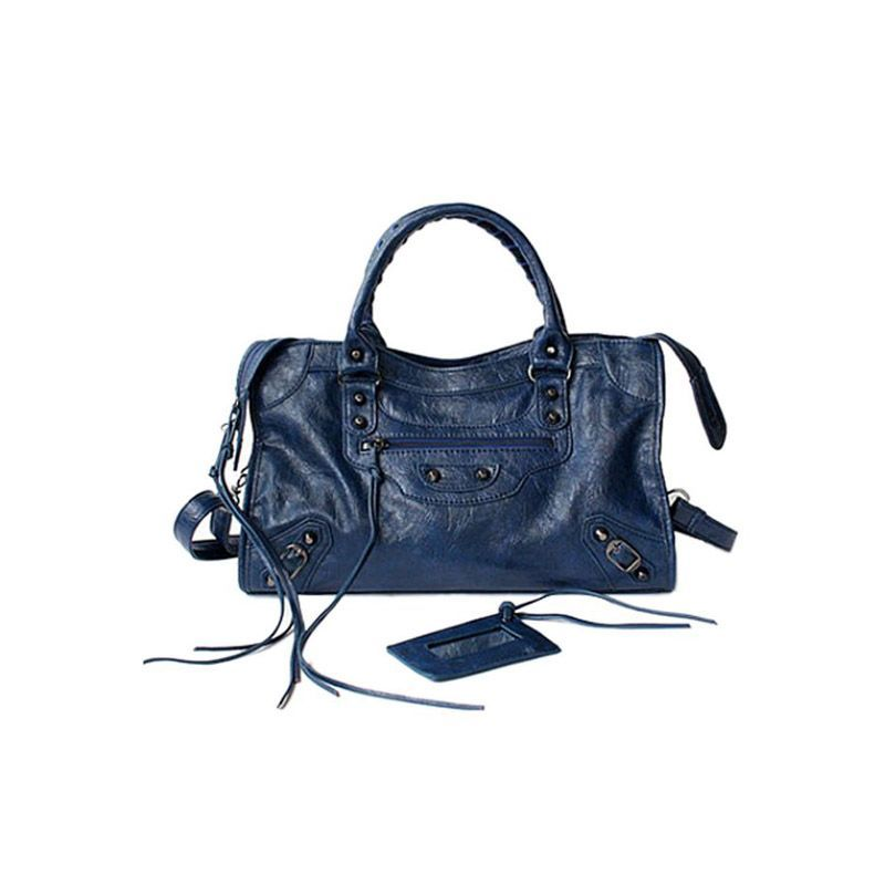 Bags | TERREL City Bag - Small | Blue | JESSICABUURMAN.COM