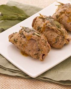 Photo of Veal rolls with ham and cheese