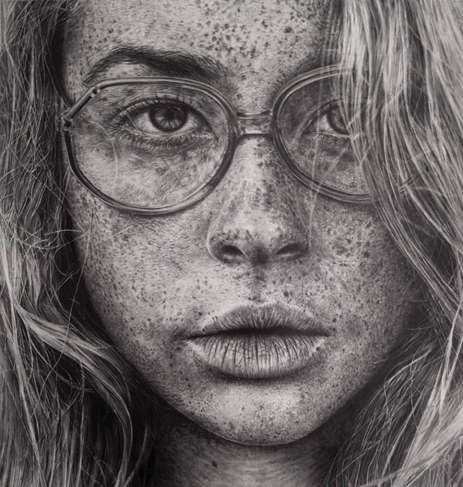 Incredible photorealistic drawings from monica lee
