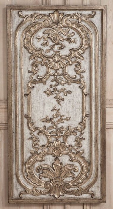Rococo Wall Panel A   Wall Panels   Inessa Stewarts Antiques