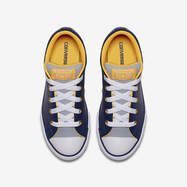 Converse Chuck Taylor All Star Street Varsity Leather Low Top Big Kids  Shoe  - YO SOY 5Y - a5fbd3bba