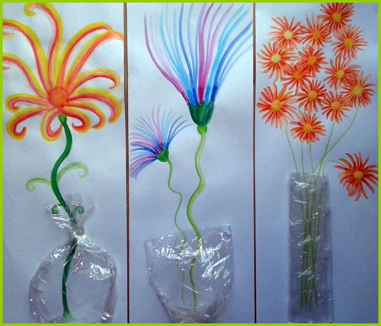 Fleurs en vase - Le tour de mes idées   Artisanat de fleurs, Bricolage fleur et Vase fleur