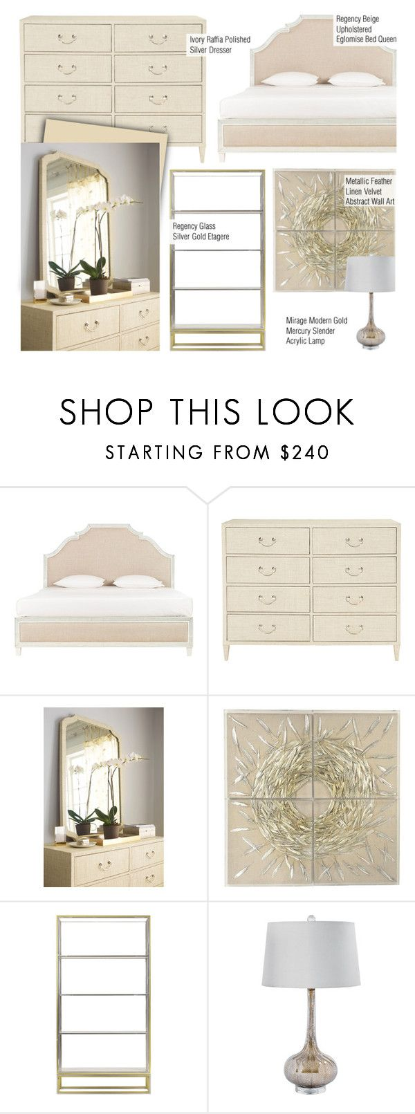 """""""Modern Bedroom Decor"""" by kathykuohome ❤ liked on Polyvore featuring interior, interiors, interior design, home, home decor, interior decorating, bedroom, modern, homedecor and modernclassic"""
