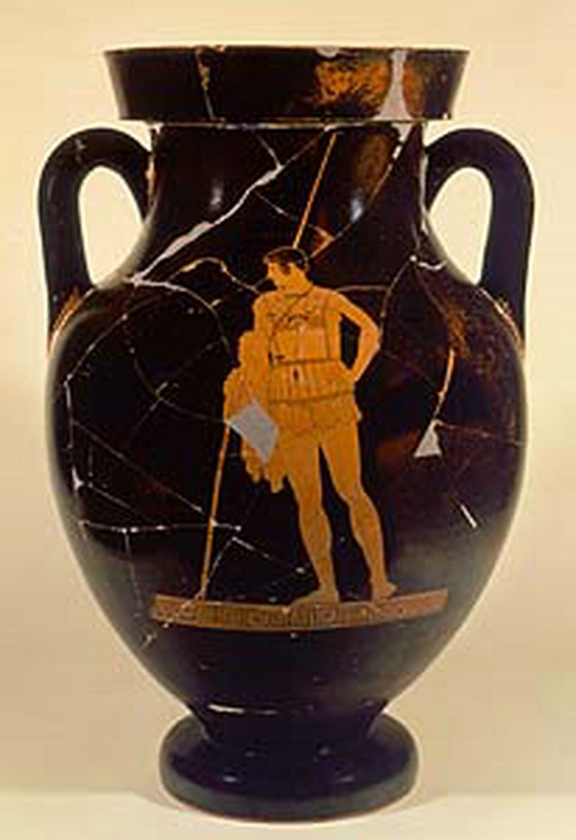Attic red figured amphora attributed to achilles painter name attributed to achilles painter name vase 450 bc reviewsmspy
