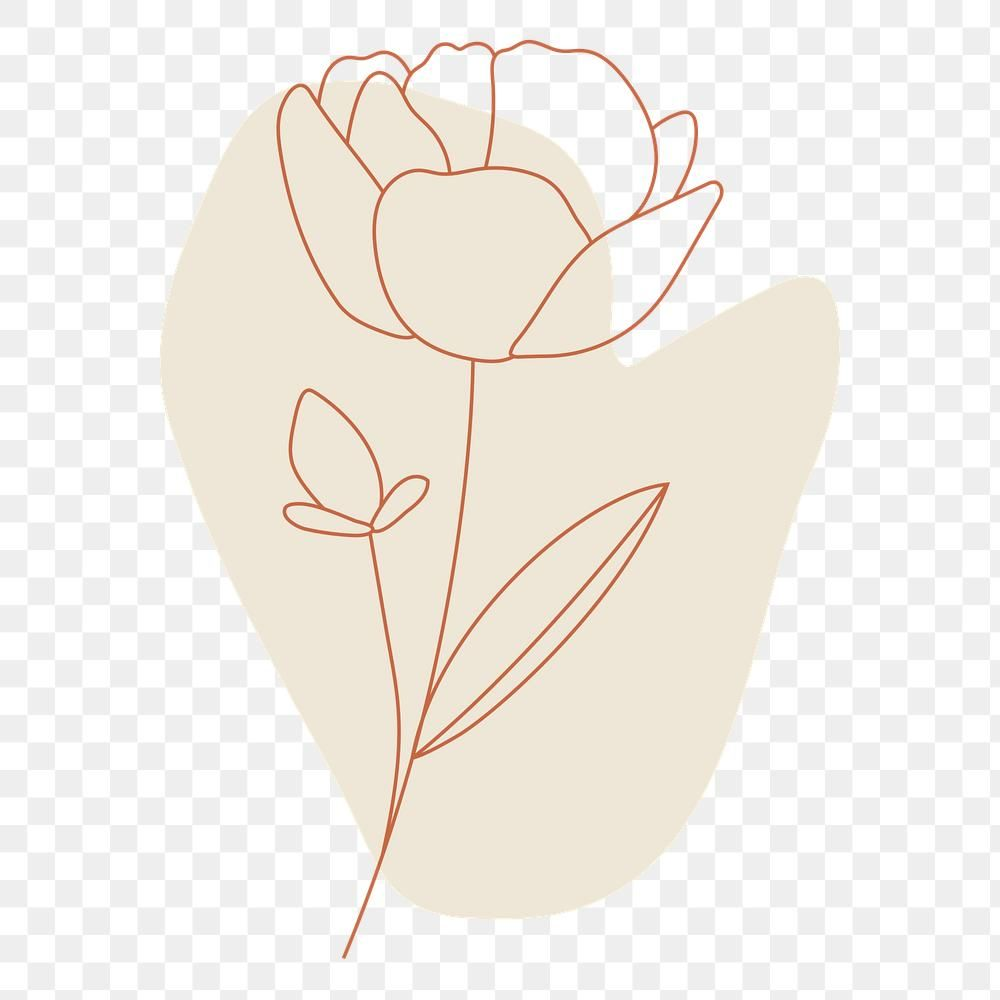 Rose Continuous Line Drawing Vector Flower Plant Minimalism Hand Drawn Line Rose Vector Png And Vector With Transparent Background For Free Download Continuous Line Drawing Vector Flowers Line Art Drawings
