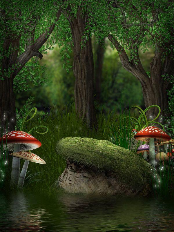 Paysage fantastique projet jardin fantastique for Jardin fantastique