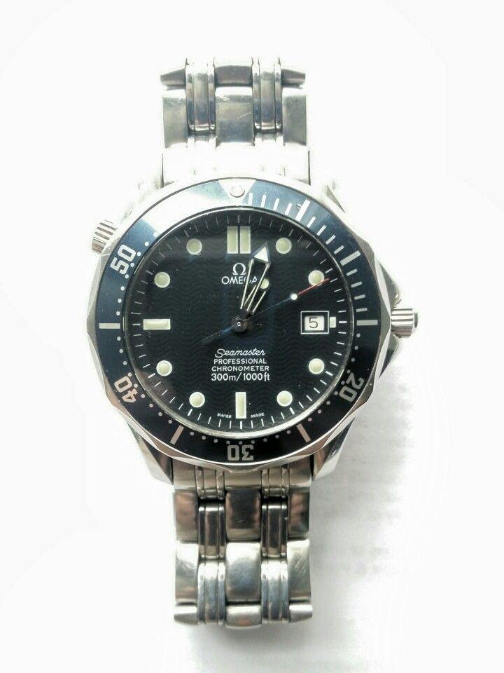 My work watch. Omega Seamaster Professional Chronometer