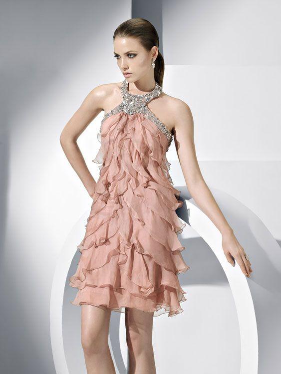 Vestidos para fiesta cortos 2012