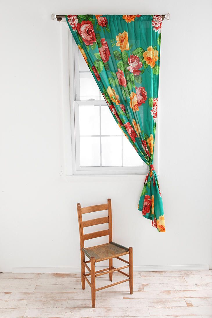 Floral curtains dining room project pinterest floral curtains
