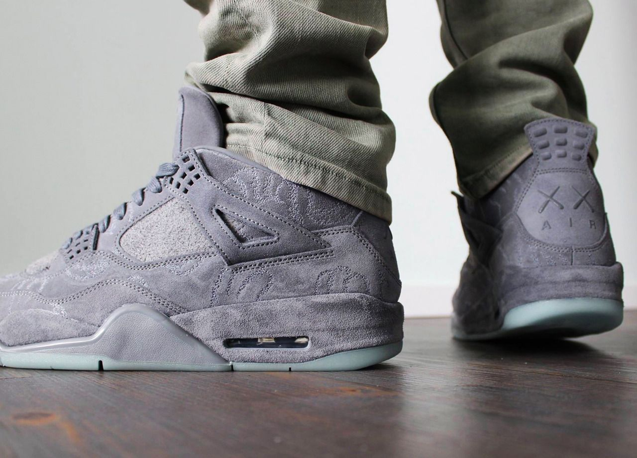 competitive price 94c84 2d5a3 KAWS x Nike Air Jordan 4 - 2017 (by Marc Phaton) A quality pair of shoe  trees by Sole Trees are a perfect fit for your sneakers  ShoeTree   SoleTrees   ...