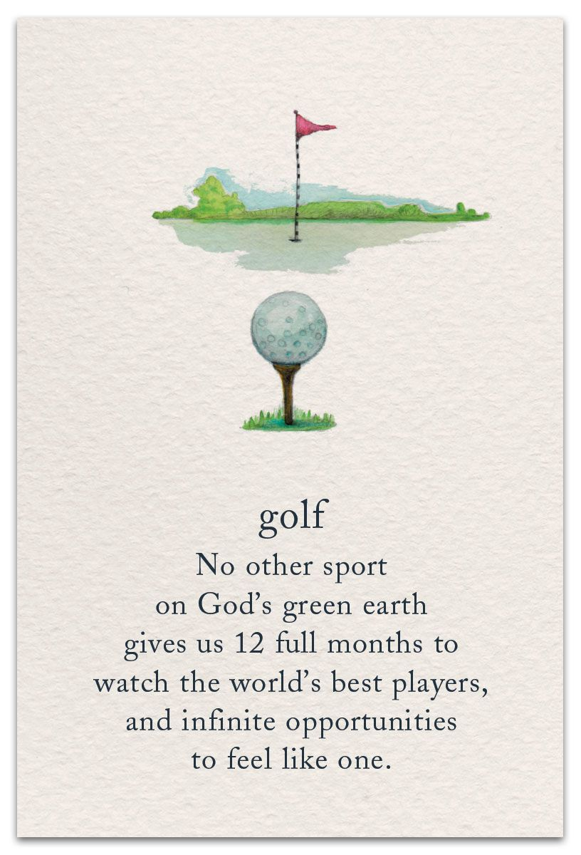 Golf Birthday Card Cardthartic Com Golf Birthday Cards Meaning Of Life Meant To Be