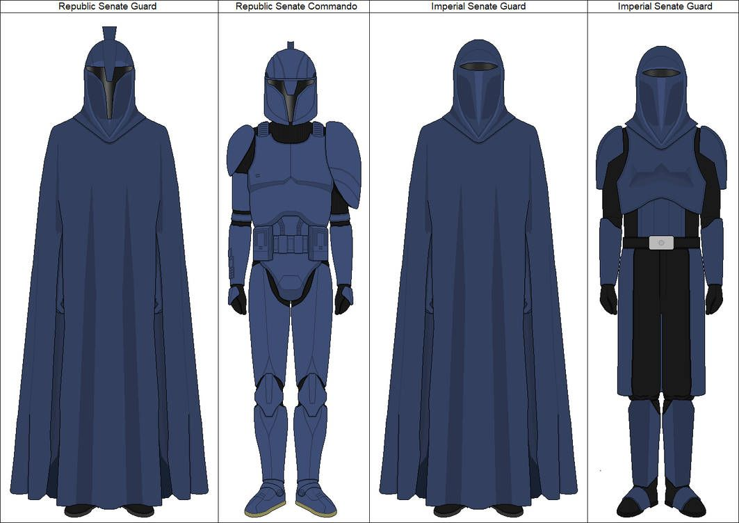 Senate Guards By Purpleempire On Deviantart Star Wars Pictures Star Wars Infographic Star Wars Characters Poster