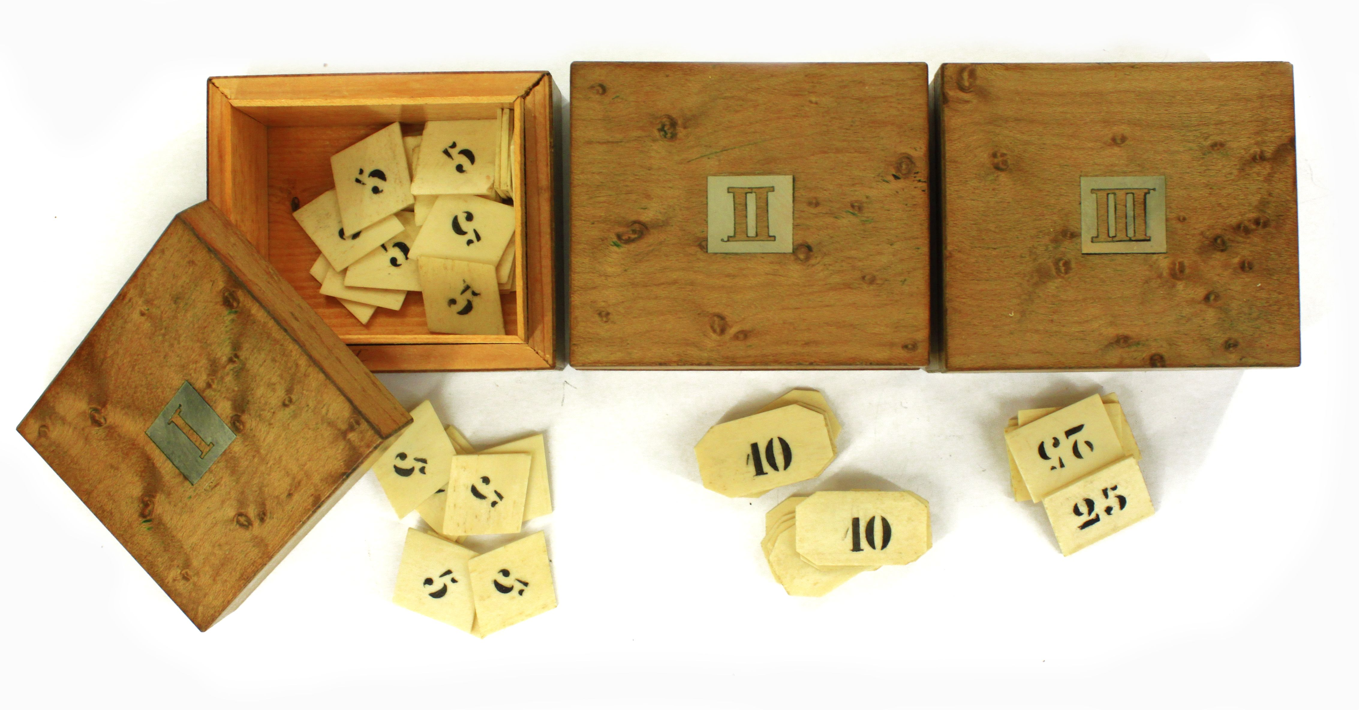 Eng card box for whist game as well as the game of