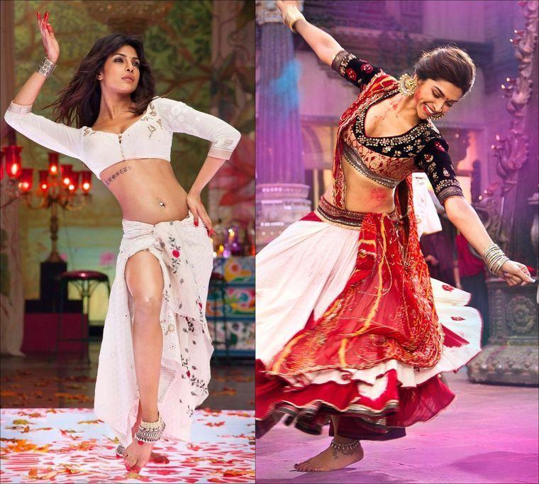 Priyanka Chopra Deepika Padukone To Dance Together In Bajirao Mastani Mastani Dress Indian Girl Bikini Priyanka Chopra Bikini